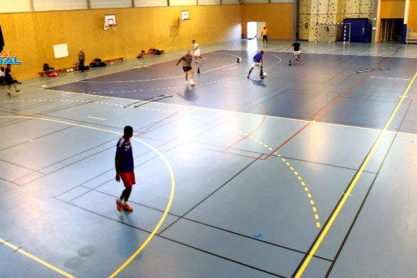 circuit de futsal préparation physique. par johann legeay et canalfutsal.com